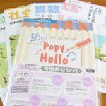 月刊通信教育の小学ポピー(国算英社理)5教科を詳しくレビュー